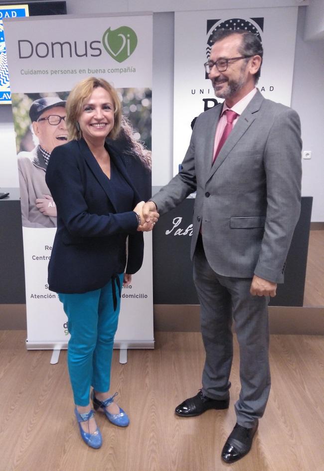 Colaboración DomusVi y Universidad Pablo de Olavide