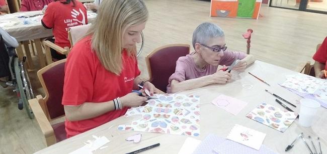 Jornada de Voluntariado Lilly en DomusVi Matogrande