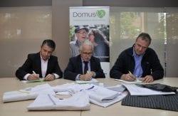 Fundación DomusVi donación Fundación Don Bosco y FAMS-COCEMFE