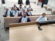 Residentes de DomusVi Vigo visitan Balaídos