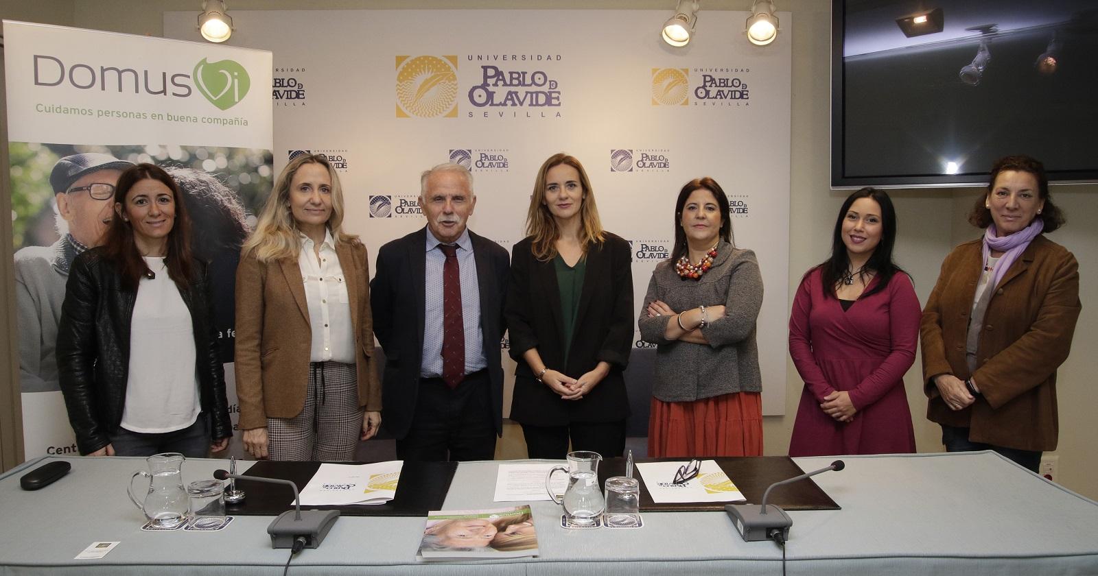 DomusVi y la Universidad Pablo Olavide