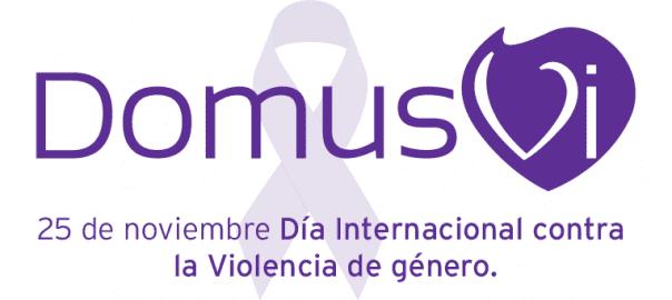 Logo DomusVi Violencia de género