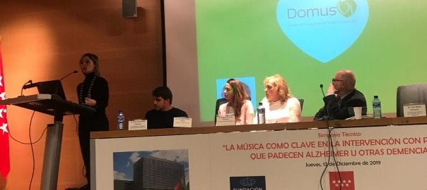 Simposio Música y Alzheimer DomusVi Valdemoro y Madrid Sur