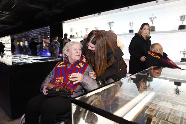 DomusVi Claret visita Camp Nou