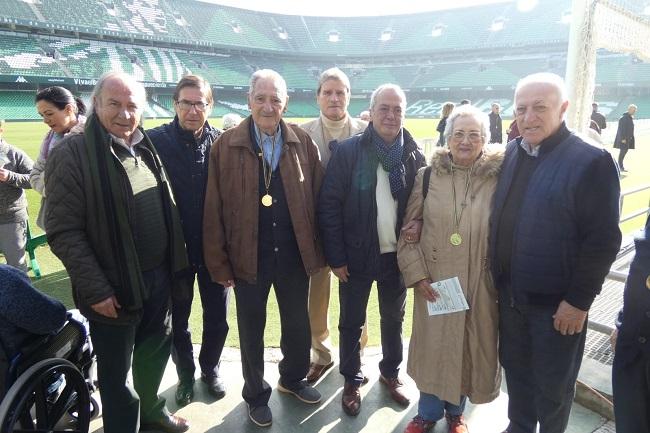 DomusVi Alcalá de Guadaíra visita Estadio benito Villamarín