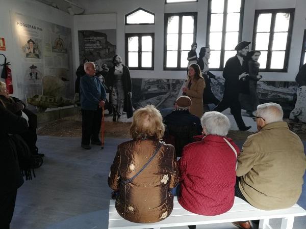 DomusVi Alicante Babel visita refugios antiaéreos