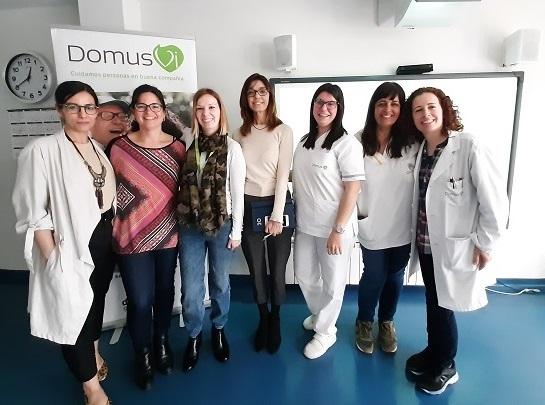 Charla Parkinson DomusVi Alicante Babel