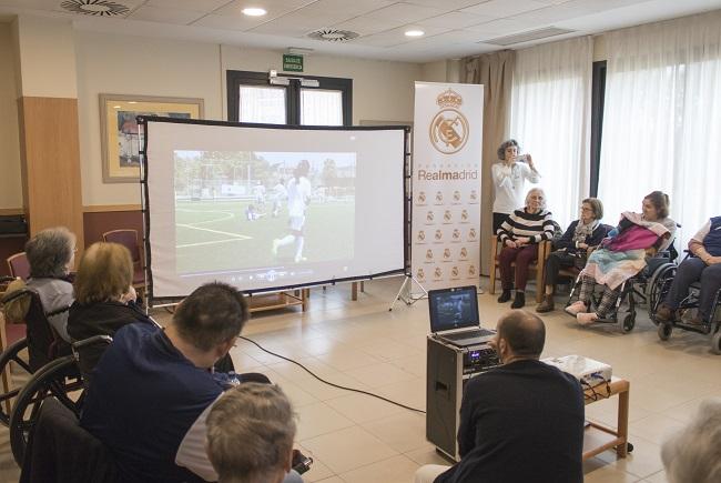 Fundación Real Madrid en DomusVi Ciudad de Badajoz