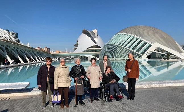 Visita Fallas DomusVi Ciudad de las Artes