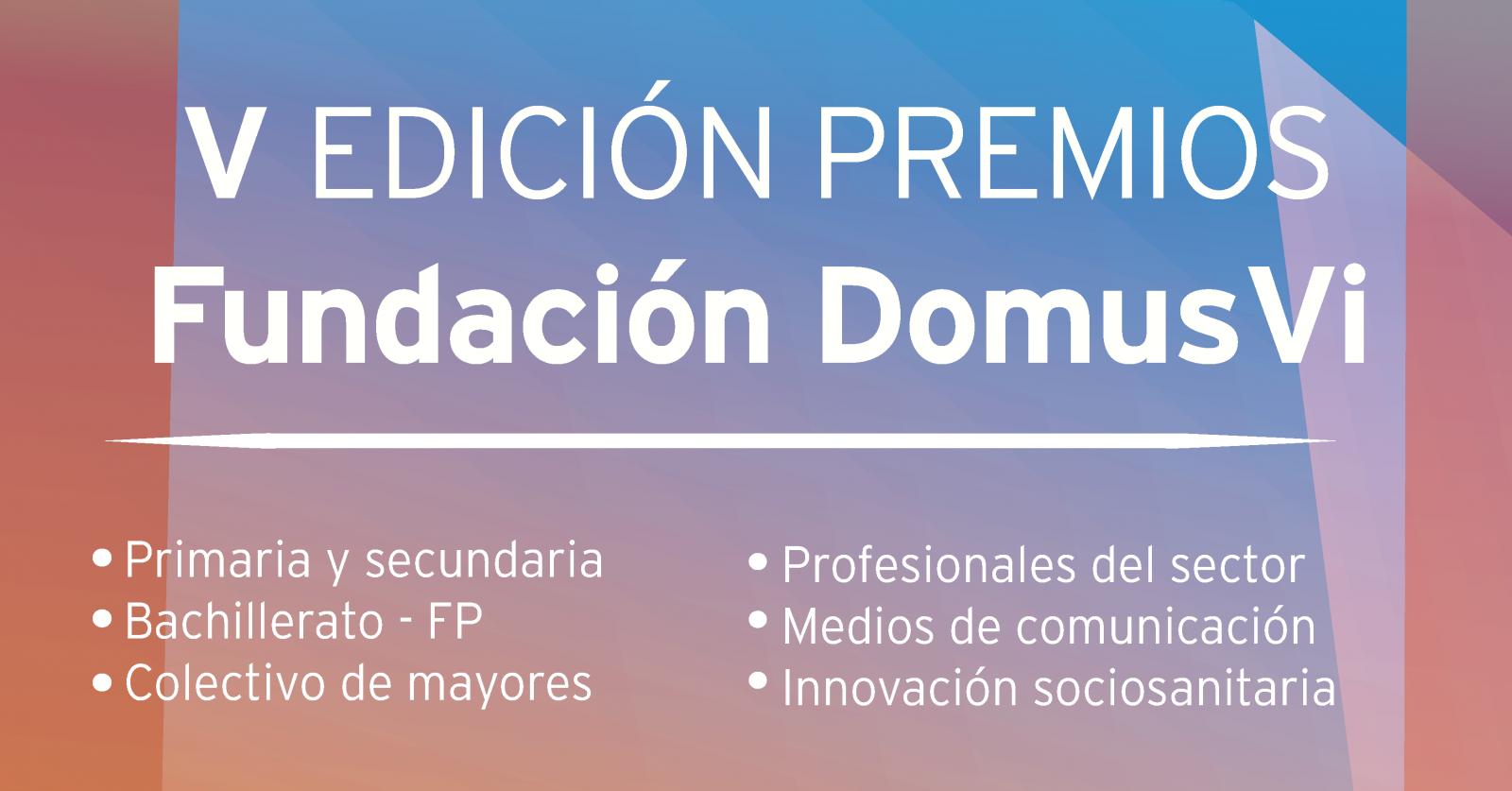 Premios Fundación DomusVi 2020