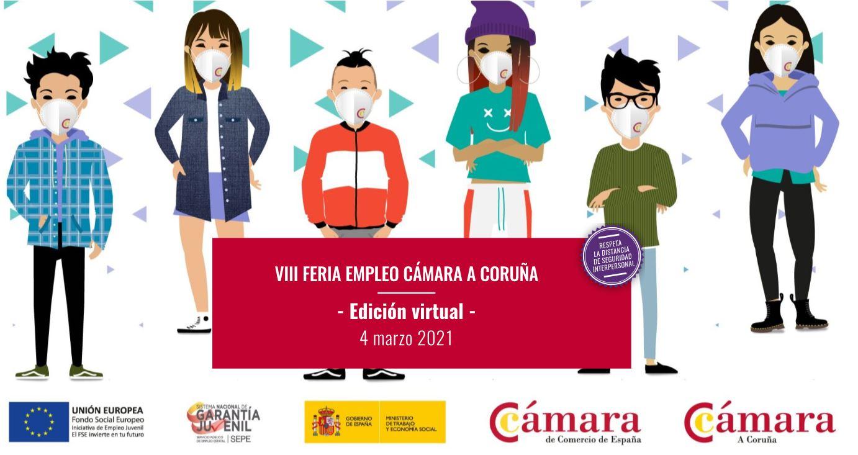 DomusVi participa en la Feria Virtual de Empleo de la Cámara de Comercio de A Coruña