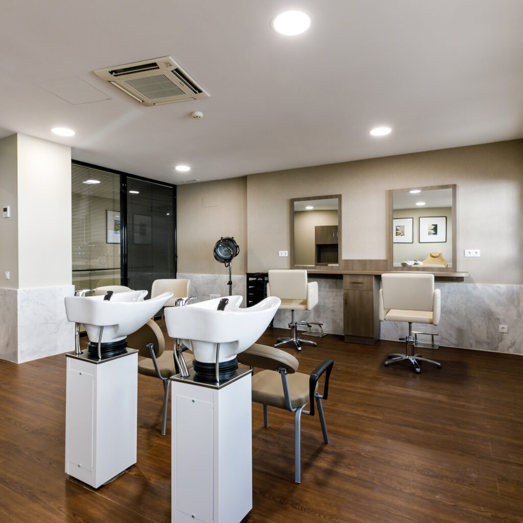 Residencia mayores Palma DomusVi Sa Riera peluquería