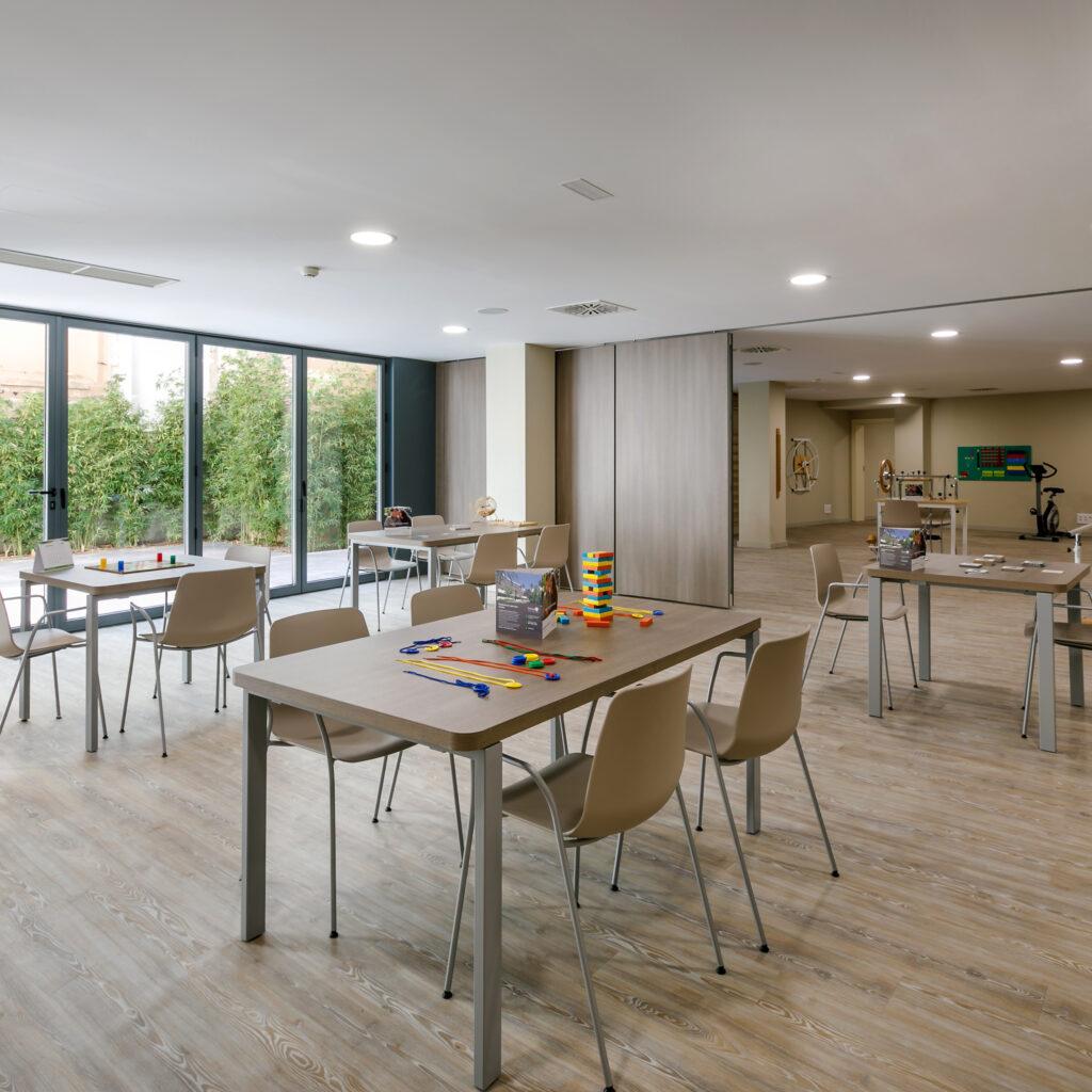 Residencia mayores Palma DomusVi Sa Riera sala de terapias