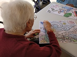 Día Mundial del Arte en las residencias DomusVi