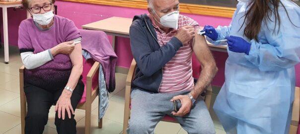 Residentes vacunados DomusVi
