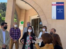Visita Consejera Bienestar Residencia Princesa de Éboli