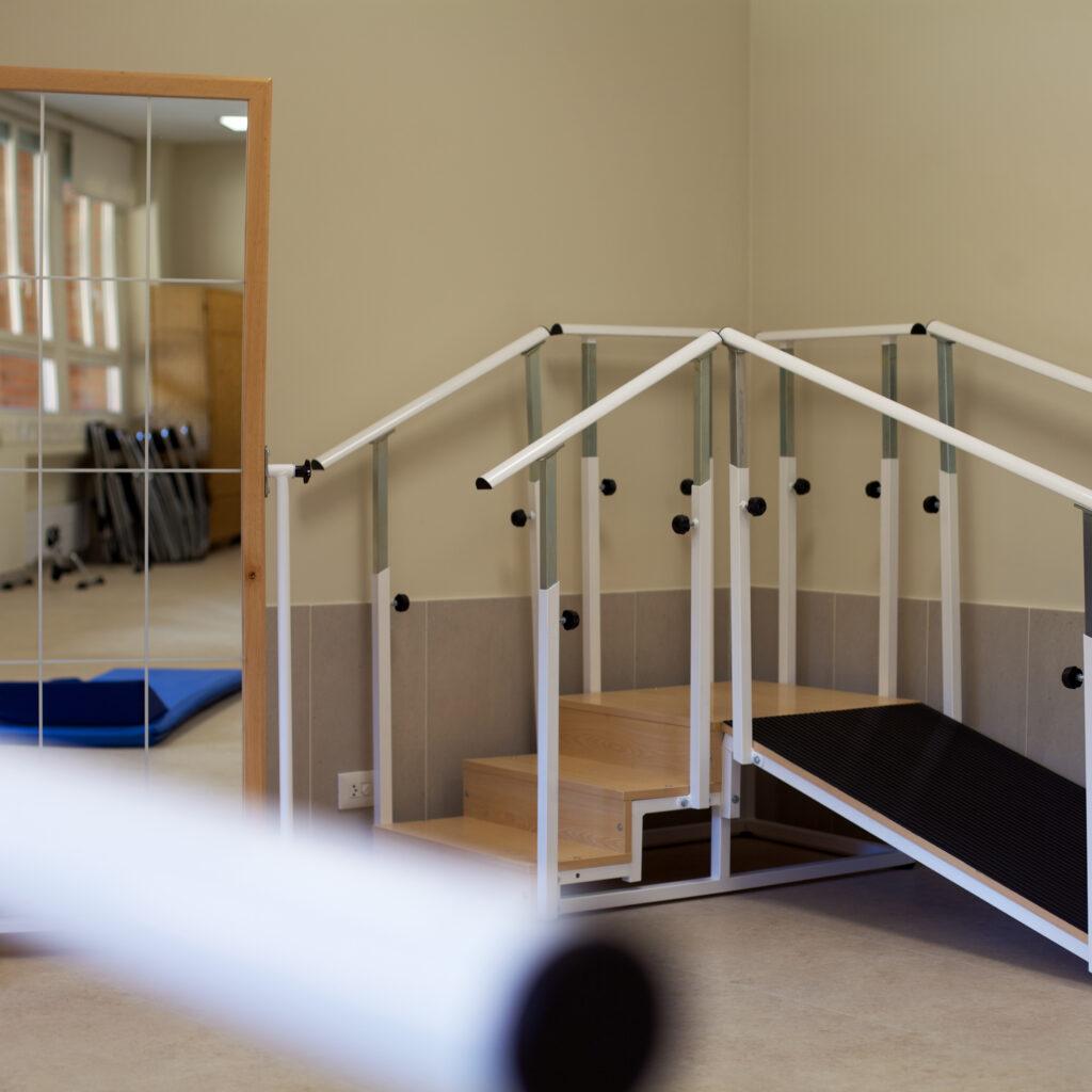 Residencia mayores Vitoria DomusVi Gazalbide gimnasio