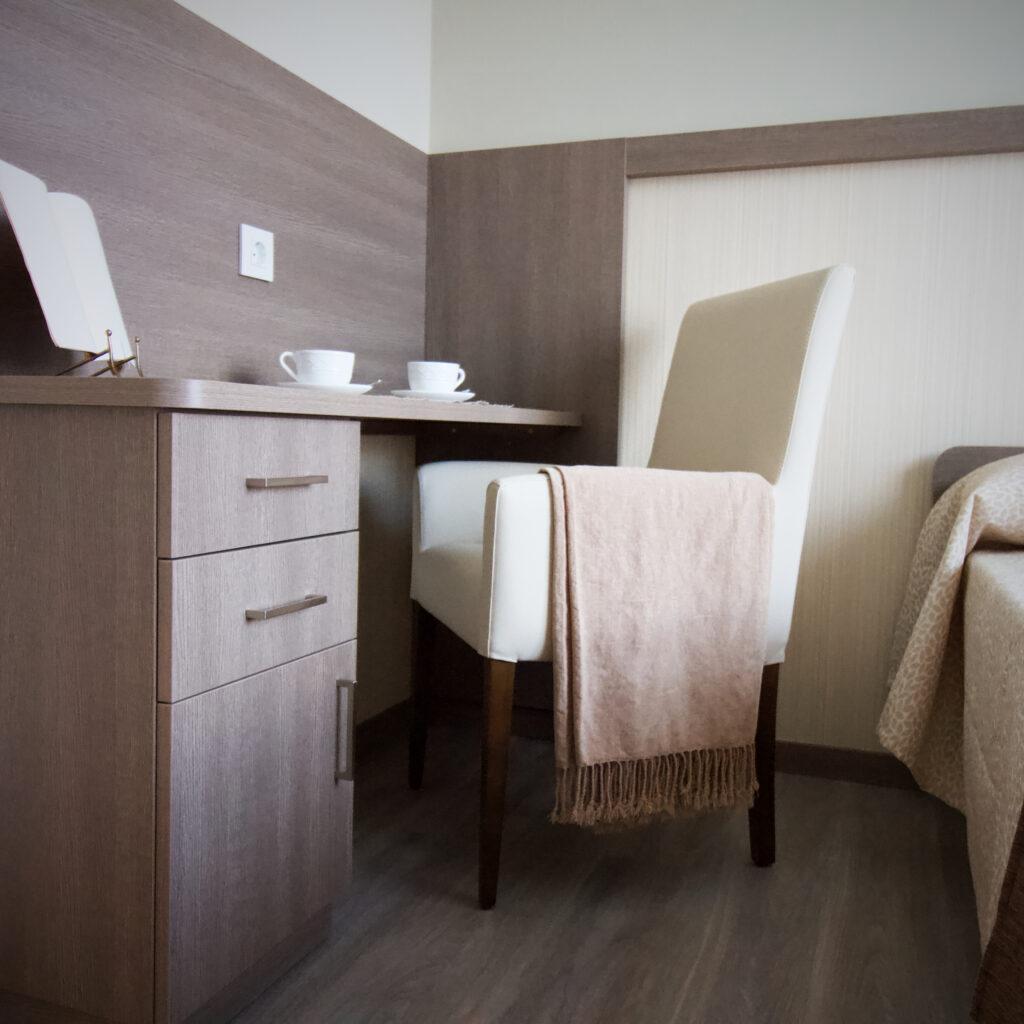 Residencia mayores Vitoria DomusVi Gazalbide habitación