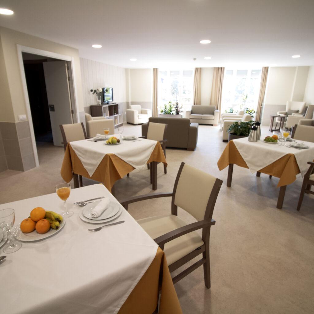 Residencia mayores Vitoria DomusVi Gazalbide comedor
