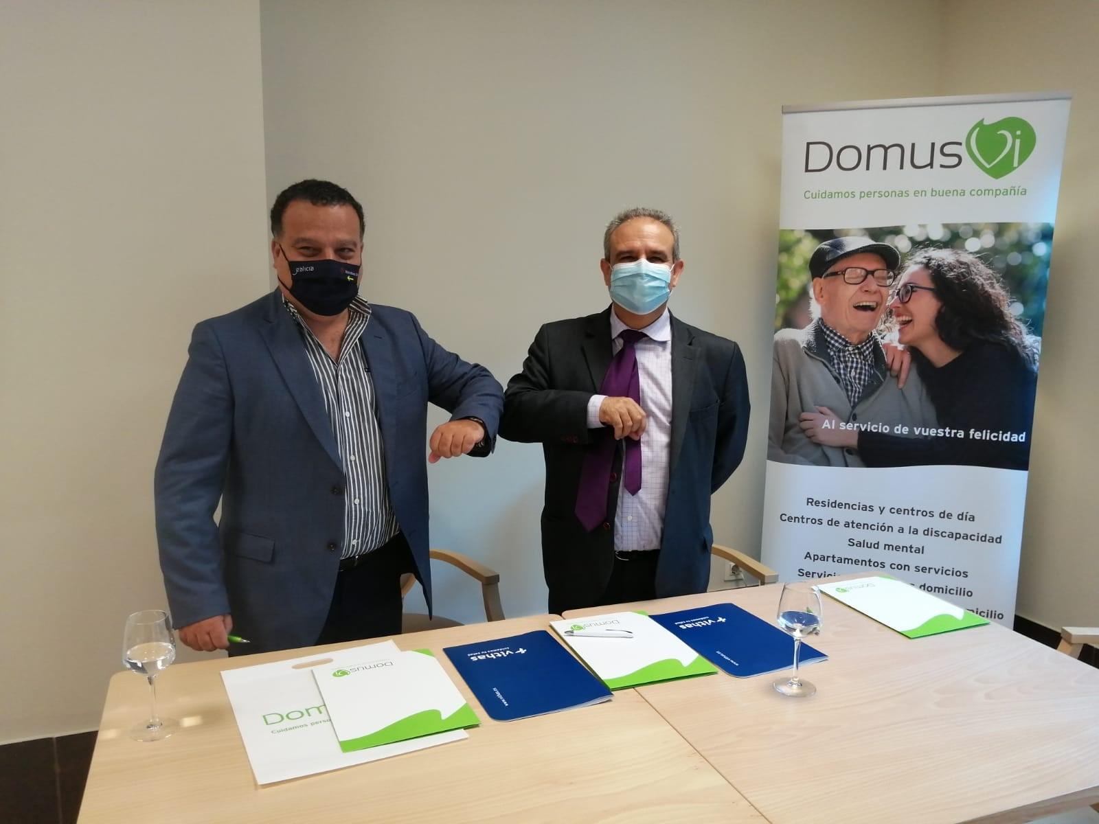 Convenio colaboración DomusVi y Hospital Vithas Fátima de Vigo